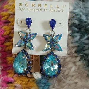 Magnificent Blue Statement Earrings Sorrelli